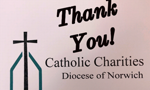 Catholic Charities Receives Grant from the George & Grace Long Foundation!