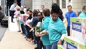 Catholic Charities USA has mobilized to help communities affected by Hurricane Florence