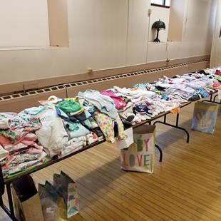 Tables of donations