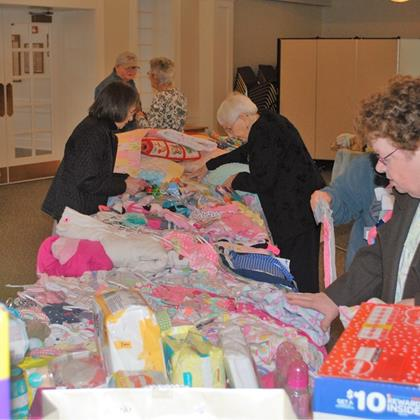 Click to view album: Layette Program April2018