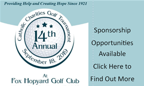 14th Annual Golf Tournament Sponsors  Needed