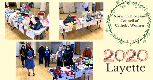 A Blessing Benefiting Mothers in Need- Norwich Diocesan Council of Catholic Women Hold Drive Through Layette